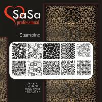 Stamping plate SaSa №24