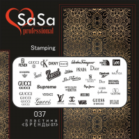 Stamping plate SaSa