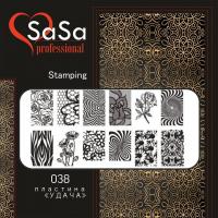 STAMPING PLATE SASA №38